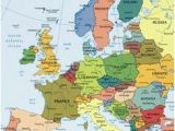 Map Of Europe Landforms 19 Best Geography Images In 2015 Geography World