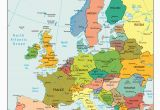Map Of Europe Main Cities Countries Quiz World Maps
