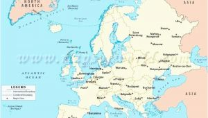 Map Of Europe Main Cities Map Europe Major Cities Pergoladach Co