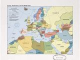 Map Of Europe Middle East and north Africa Map Of Europe Middle East and north Africa Map Of Africa