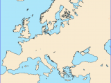 Map Of Europe No Labels 36 Intelligible Blank Map Of Europe and Mediterranean