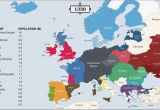 Map Of Europe Post Ww2 the History Of Europe Every Year
