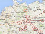 Map Of Europe Prague Prague Map Europe