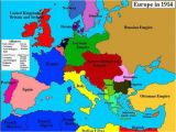 Map Of Europe Pre World War 1 World War One Map Fresh Map Of Europe In 1914 before the