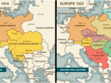 Map Of Europe Pre Ww1 10 Explicit Map Europe 1918 after Ww1