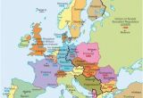 Map Of Europe Pre Wwii A Map Of Europe During the Cold War You Can See the Dark
