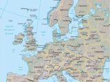 Map Of Europe Rivers and Mountains Eastern Europe Mountains Map Lgq Me