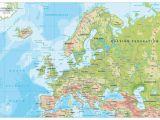 Map Of Europe Showing Prague Map Of Europe Europe Map Huge Repository Of European