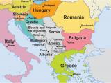 Map Of Europe Showing Slovenia Eu Enlargement Western Balkans Multimedia Centre