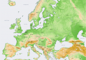Map Of Europe topographical atlas Of Europe Wikimedia Commons