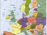 Map Of Europe with All Cities Map Of Europe Cities Europa Kontinente Und Europe Reisen