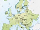 Map Of Europe with Capital Cities 25 Categorical Map Of Eastern Europe and Capitals