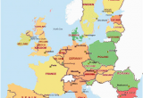 Map Of Europe with Countries and Cities Awesome Europe Maps Europe Maps Writing Has Been Updated