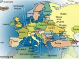 Map Of Europe with Physical Features Europe Physical Features Map Climatejourney org