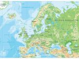 Map Of Europe with Physical Features Map Of Europe Europe Map Huge Repository Of European