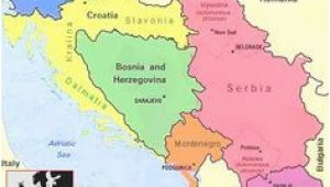 Map Of Europe Yugoslavia Yugoslavia