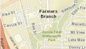 Map Of Farmers Branch Texas Usps Coma Location Details