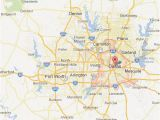 Map Of fort Worth Texas and Surrounding areas Dallas fort Worth Map tour Texas