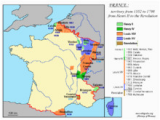 Map Of France 1789 History Of French foreign Relations Wikipedia