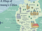 Map Of France and Belgium with Cities Germany Cities Map and Travel Guide