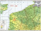 Map Of France and Belgium with Cities Lowlands Of northern France and Belgium