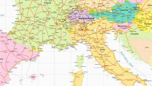 Map Of France and Italy and Switzerland Map Of France Italy and Switzerland Download them and Print