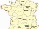 Map Of France and Its Regions Regional Map Of France Europe Travel
