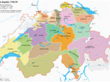 Map Of France and Switzerland Border Helvetic Republic Wikipedia