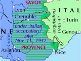 Map Of France Avignon Italian Occupation Of France Wikiwand
