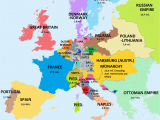 Map Of France During the French Revolution Map Showing Population Of European Countries 1789 On the Eve