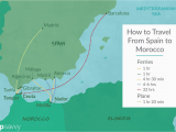 Map Of France Ferry Ports top Tips On How to Get to Morocco From Spain