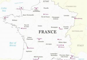 Map Of France for Children Map Of France Blank