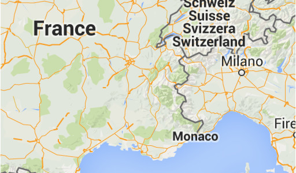 Map Of Italy Switzerland.Map Of France Italy And Switzerland 11 Day Italy Switzerland And