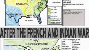 Map Of France Labeled French and Indian War Map Activity American Revolution