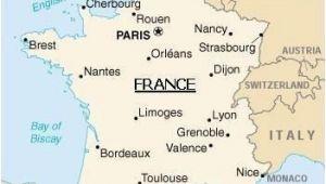 Map Of France Limoges Map Of France Paris France Map Metz France France Travel