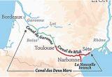 Map Of France Ports Canal Du Midi Wikipedia