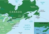 Map Of France Ports St Pierre Miquelon Current French Territories In north America