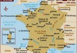 Map Of France Showing Bordeaux Map Of France