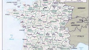 Map Of France Showing Lyon Map Of France Departments Regions Cities France Map