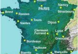 Map Of France with Cities and Rivers Map Of the Rivers In France About France Com