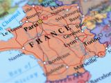 Map Of France with Cities Rivers and Mountains France Cities Map and Travel Guide