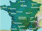 Map Of France with Cities Rivers and Mountains Map Of the Rivers In France About France Com