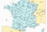 Map Of France with towns Printable Map Of France Tatsachen Info