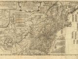 Map Of Galloway Ohio 1775 to 1779 Pennsylvania Maps