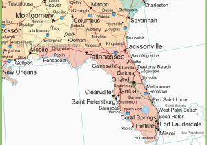 Map Of The Panhandle Florida.Map Of Georgia And Florida Cities Florida Panhandle Map Secretmuseum