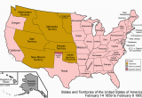 Map Of Georgia and Surrounding States Datei United States 1859 1860 Png Wikipedia