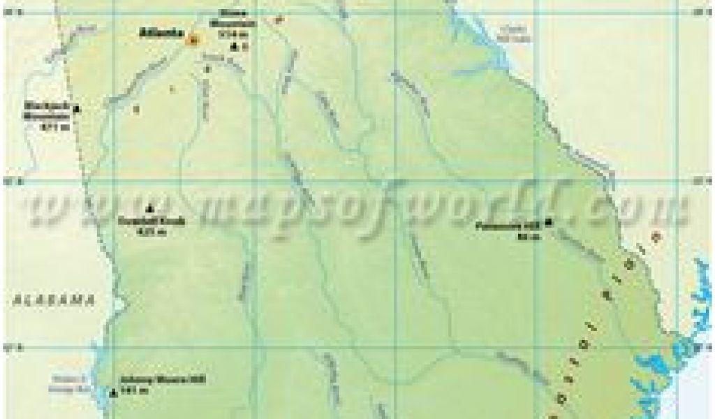 Map Of Georgia Mountains Montana Mountain Ranges Map Usa ...