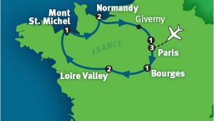 Map Of Giverny France France tour the Best Of France Rick Steves tours Ricksteves Com