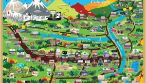 Map Of Glenwood Springs Colorado Cartoon tourist Map Of Glenwood Springs Co Photo Courtesy Of Www