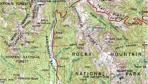 Map Of Grand Lake Colorado the Glaciation Of Grand Lake